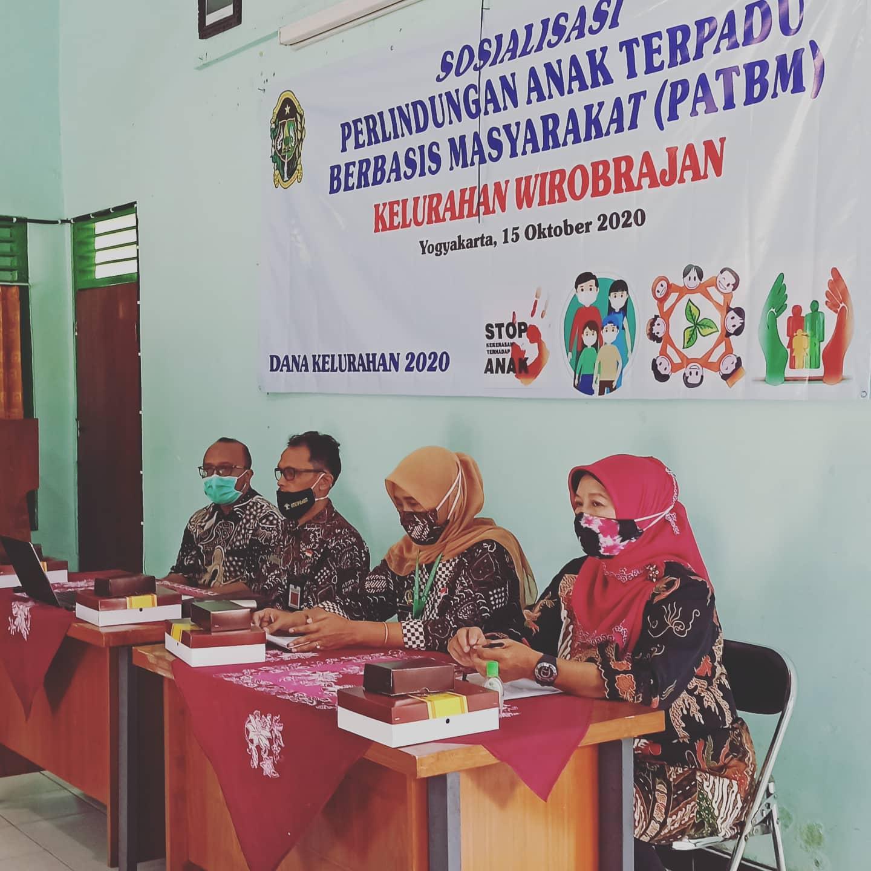 Sosialisasi PATBM (Perlindungan Anak Terpadu Berbasis Masyarakat) di Kelurahan Wirobrajan