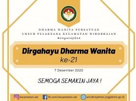 Dirgahayu Dharma Wanita ke 21